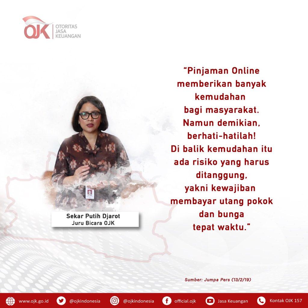 Ojk Indonesia Op Twitter Satgas Waspada Investasi Dan Otoritas