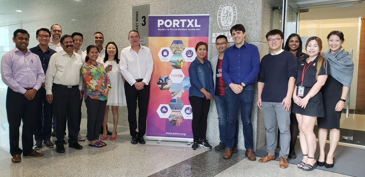Great acceleration program by @PortXLglobal for maritime startups to showcase their innovative ideas.  BVM Singapore supports maritime innovation. Kudos to all the 6 startups today!  PortXL is a startup incubator based in Rotterdam.  #innovation #maritime #Shipping #startup