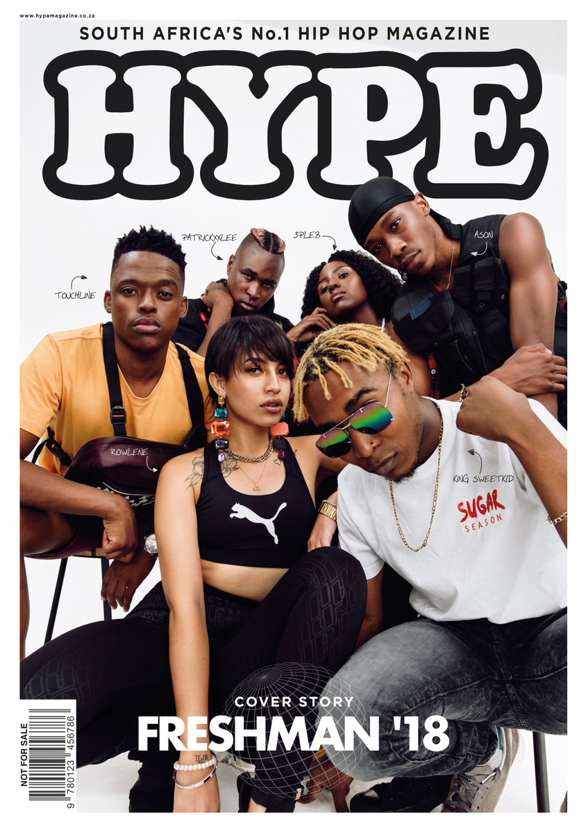 🚨🚨🚨We're Proud To Announce Our New Digital #HYPEFreshman2018 Cover W/ @Rowlene_SA @asonleaux @PatricKxxLee @KingSweetKid @TiaNonDaTrack @3pleB_SA & @TouchlineTruth As Voted By YOU! Lookout For The 1st Story Dropping Next Week. ✏️: @Roo_AT  📸: @blackmilk_za  💄: @themarchwolf