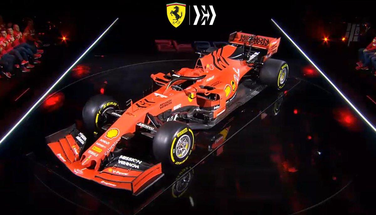 Sebastian Vettel 5 On Twitter The 2019 Ferrari F1 Car The Sf90 Essereferrari Vettel Seb5