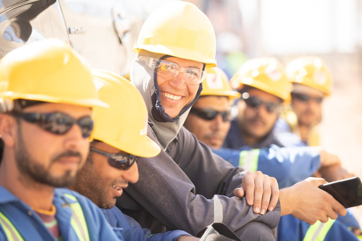 All smiles as gas production begins at the 2nd stage of West Nile Delta, offshore #Egypt, the 2nd upstream major project to come onstream for #BP in 2019:  https://on.bp.com/2E4w0ye