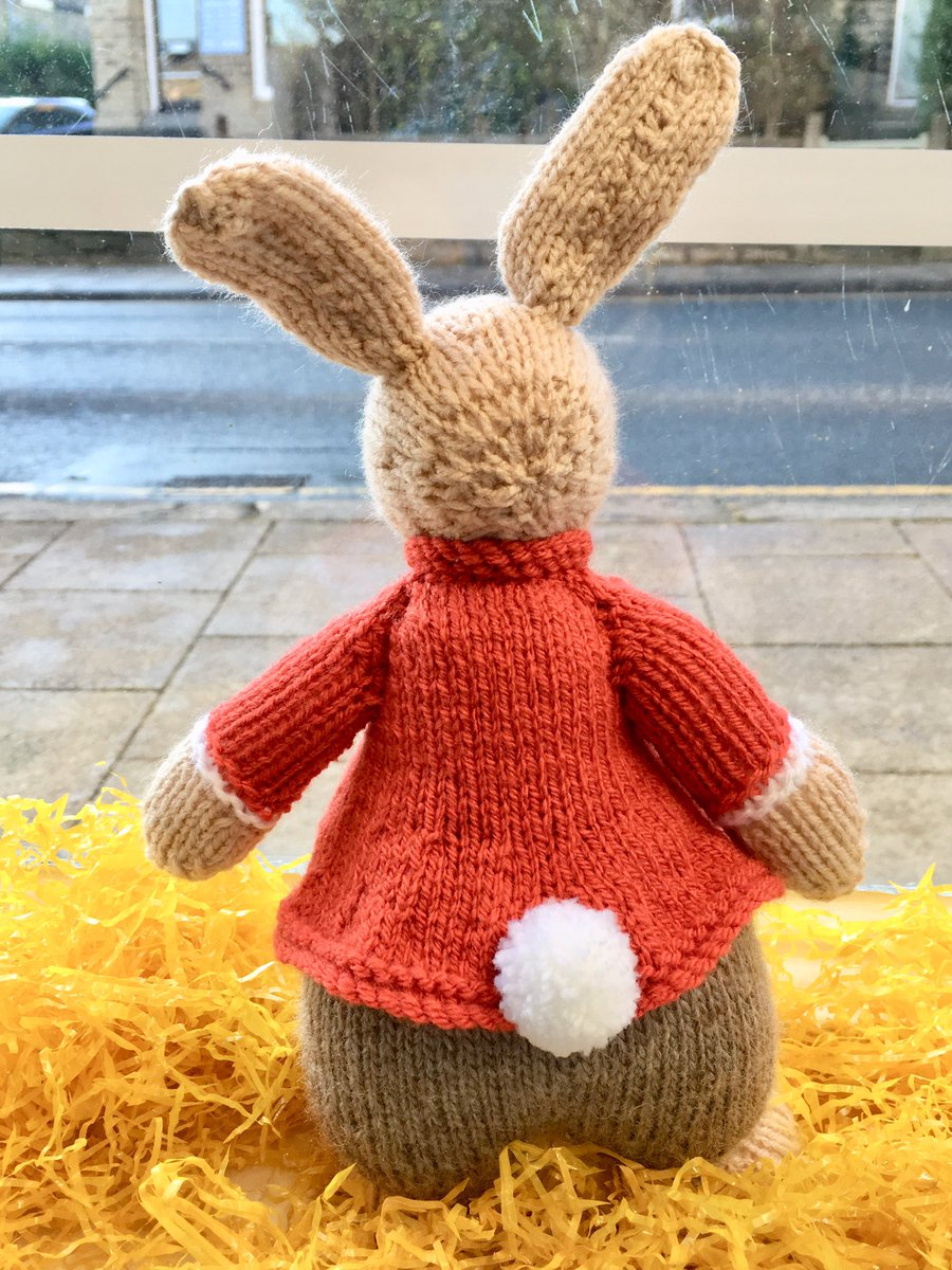 Look who just hopped into our shop window! 🐰🌸#Easter #easterbunny #shopwindow #Saltaire