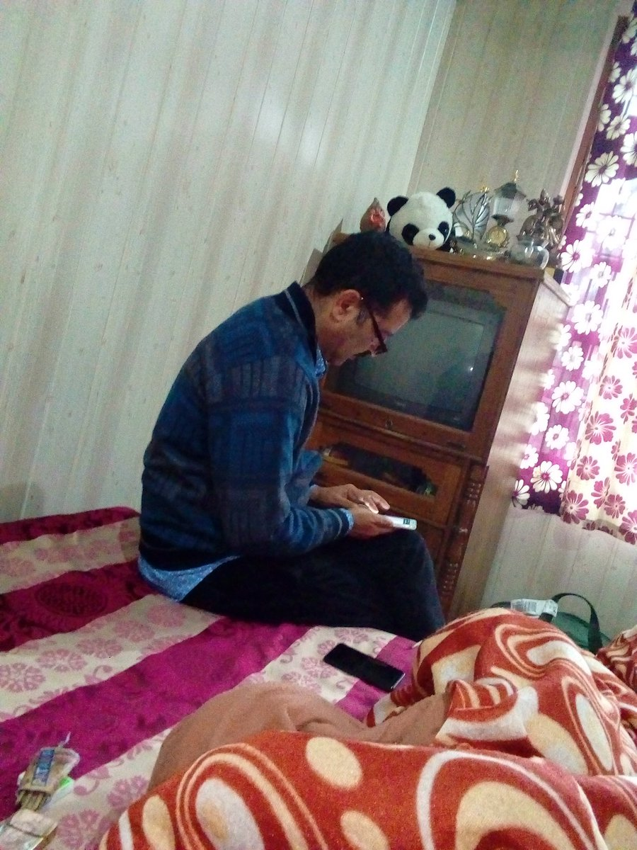 Having Memorable Time With Chotay Bhai At His Home Sweet Home In Kangra HP Who Says Fascists Forces Can Divide INDIA? In The Name Of Caste, Faith & Religion Thanks Twitter.  @ManojMehtamm