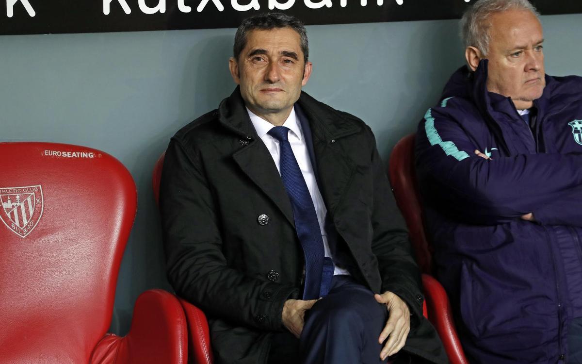 Barcelona scared? We're top of La Liga, says Valverde