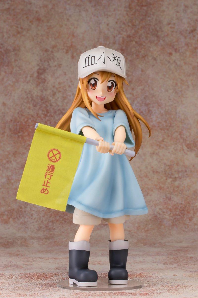 "Directamente de la popular serie de anime ""Hataraku Saibou"", Fots Japan presenta la figura que le dedica a Plaqueta.  Más información: http://bit.ly/2tm2ZrH  #CellsAtWork #HatarakuSaibou #Platelet #FOTS #FOTSJAPAN"