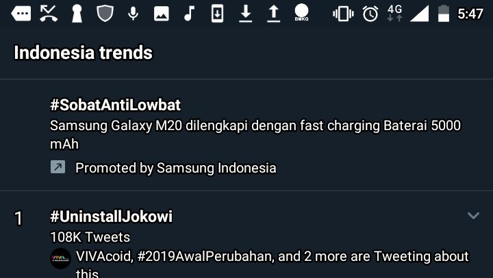 Dear all people in the world. Jokowi isn't a malware, viruses attack or any application. Don't get wrong! 😂 #UninstallJokowi