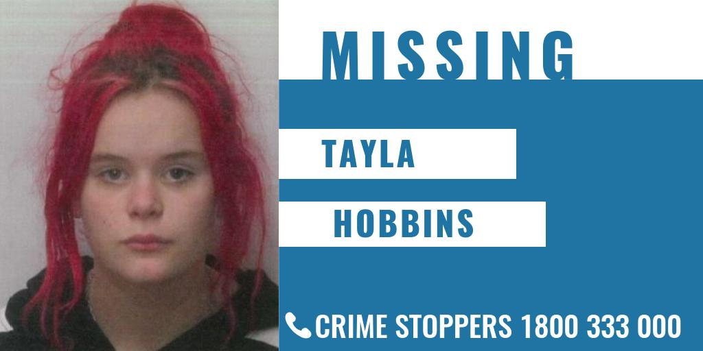 Have you seen Tayla Hobbins?  The 13-year-old was last seen on 10 February in Sunshine.  She is known to frequent Sunshine and Melbourne's CBD and may also be heading towards the Warragul area.  📞 Sunshine Police Station on 9313 3333 🗒  https://t.co/w2mxypnWxv