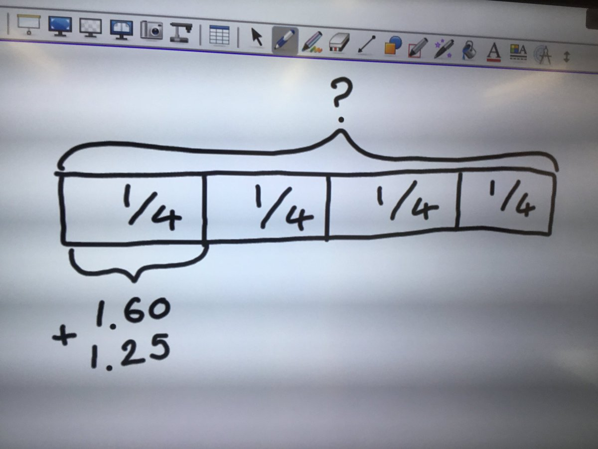 test Twitter Media - We used this bar model to calculate how much money someone had in total from knowing what they had spent #gorseymaths https://t.co/b5XrKceXNc