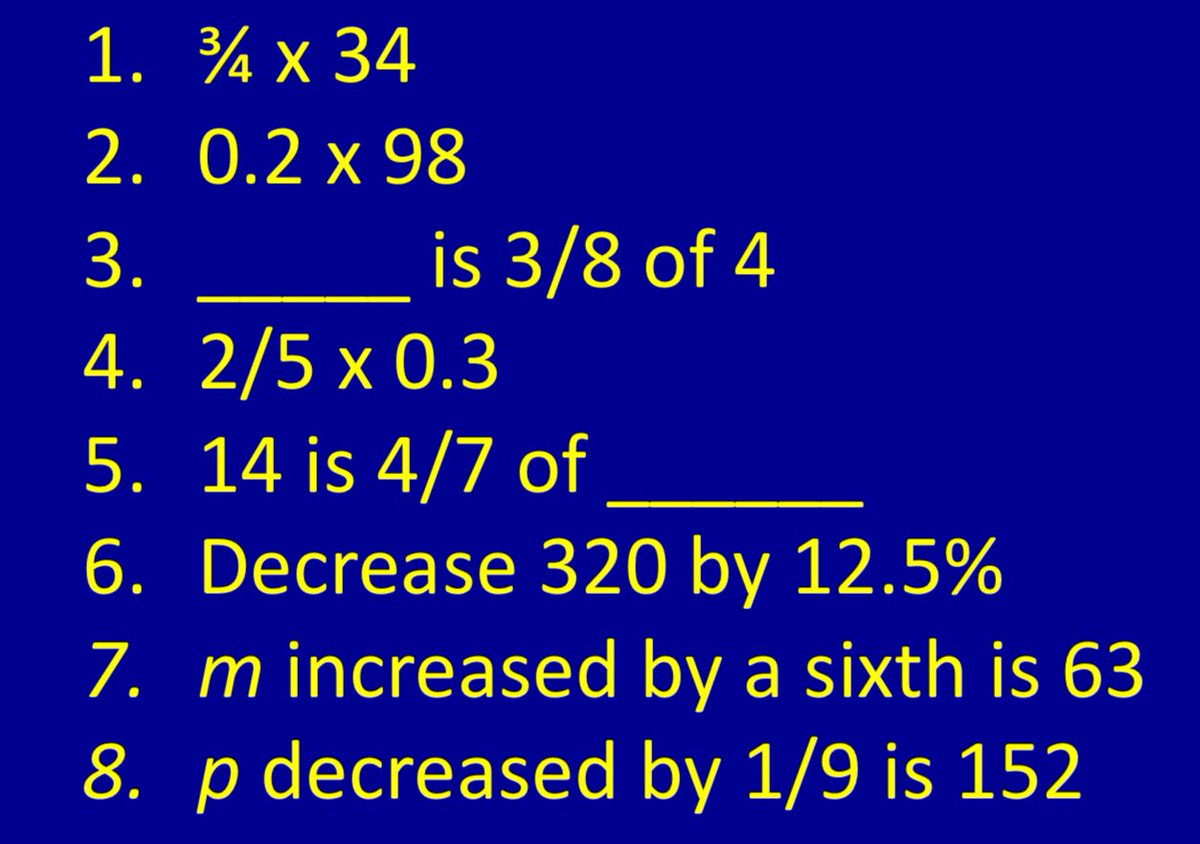 test Twitter Media - Today's #gorseymaths starter for 10 (or 8!) - how would you get on?! https://t.co/qzgd17znx5