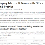 Now #MicrosoftTeams is part of #Office365 ProPlus, you perhaps have some questions about this? This article should answer many of them! https://t.co/C5c37ySQXx