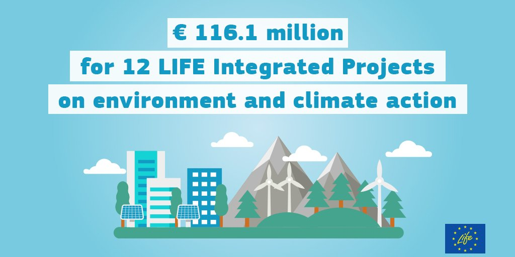 European Commission today announced an investment of € 116.1 million for the latest integrated projects to be funded under the #LIFEProgramme for the #Environment and #ClimateAction. The funding will support also project in #Estonia by improving river basins in eastern Estonia.