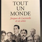 "Image for the Tweet beginning: #VendrediLecture ""Tout un monde, Jacques"