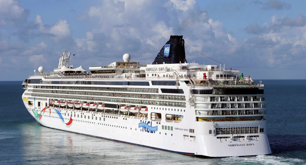 Well, this is epic: WATCH cruise liner destroying port moorings in #PuertoRico https://t.co/AiU0N9duDn