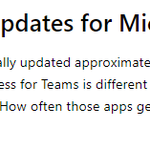 While #MicrosoftTeams being added to #Office365 suite is good, a necessary step to depreciate #SkypeforBusiness, the install method hasn't changed and it doesn't match cadence or velocity with the other apps ☹️