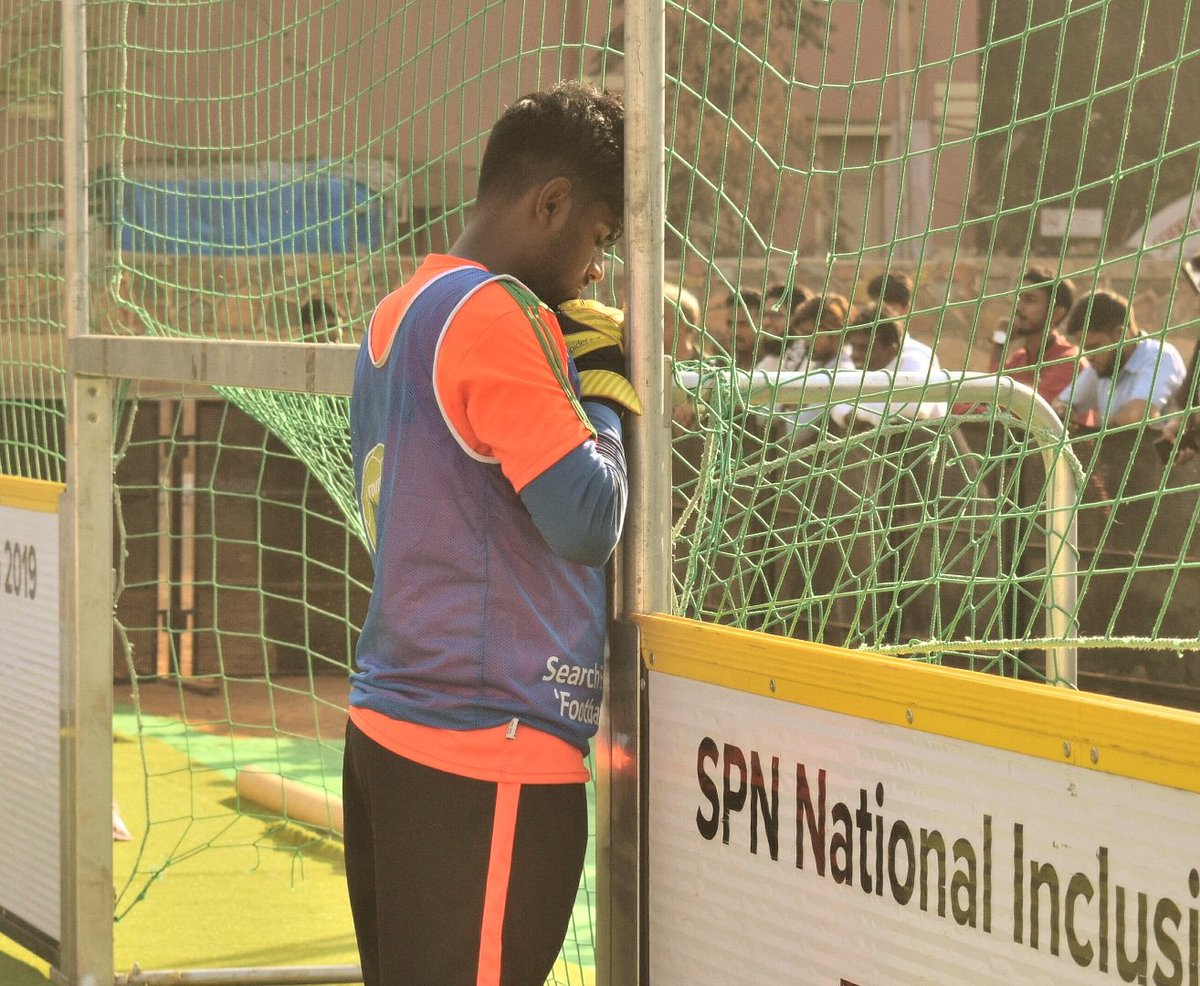 test Twitter Media - Every team needs a strong backing, a leader and an extended arm of the coach on the field! A good keeper combines all those attributes.  #SPNNIC2019 #Ekindiahappywala @SPNSportsIndia #Mumbai https://t.co/3nWGola9Zd