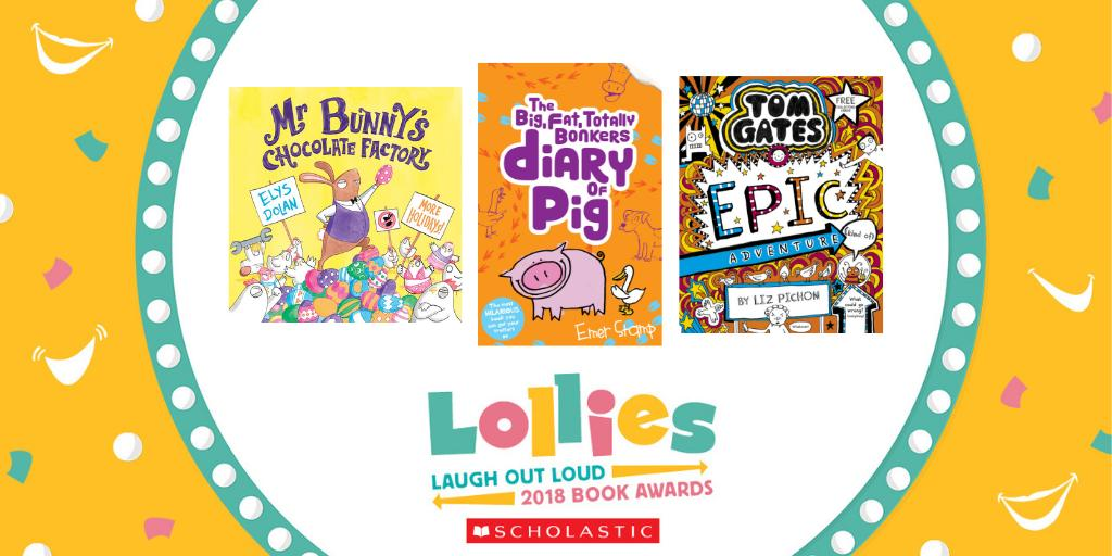 Laugh your way through half term. Check out the winners of the funniest children's books to make you LOL 😁