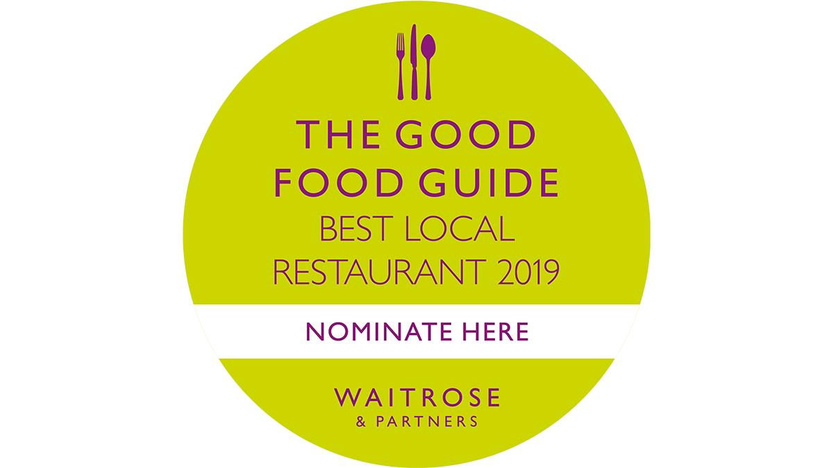 We've launched our 2019 search for the nation's favourite local restaurants.   Nominate now to be in with a chance of winning £500 worth of Waitrose & Partners vouchers.  https://www.thegoodfoodguide.co.uk/local  #GFG #Restaurants #Competition #BestLocalRestaurant