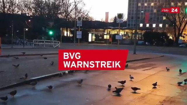 rbb 24's photo on #warnstreik