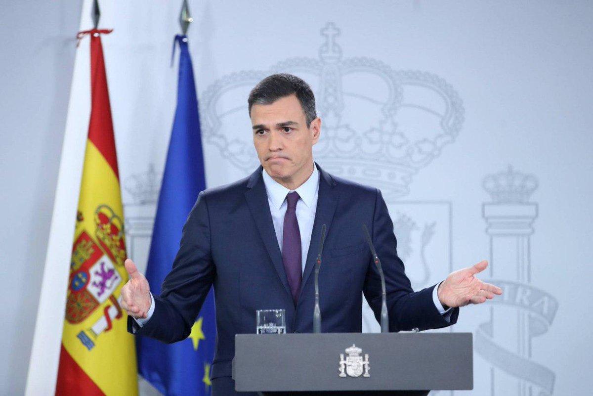 🇪🇸 Премьер-министр Испании объявил внеочередные всеобщие выборы, которые пройдут 28 апреля этого года.  За прошедшие четыре года, это будут уже третьи выборы в стране.