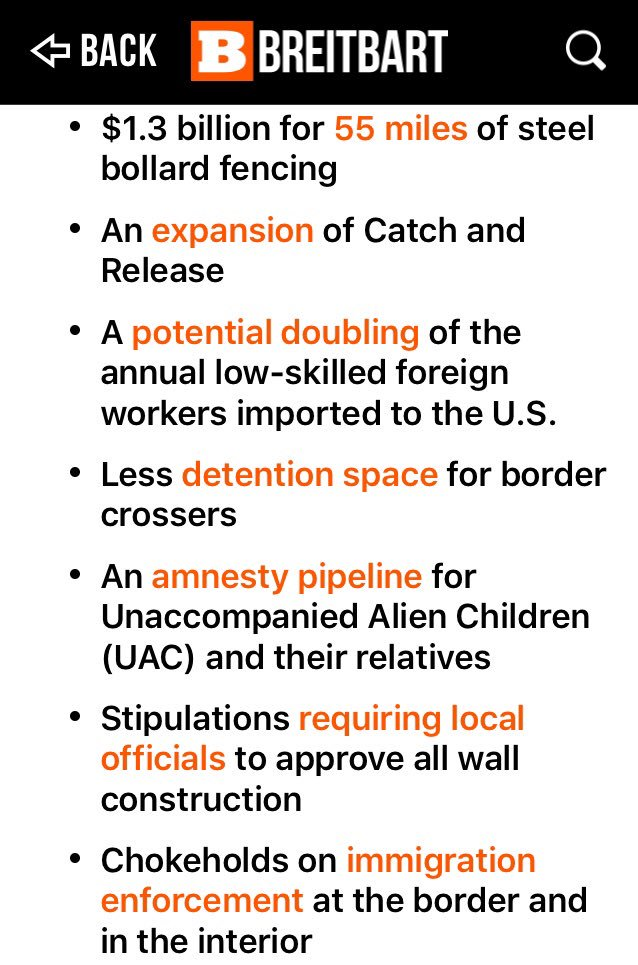 #PresidentTrump Please Do NOT Sign This Bill   ▶️Limits Your Authority  ▶️Protects Child Traffickers  ▶️Gives The Cartels A Veto Over The Wall    It Is A Victory For The Democrat Illegal Voter Swamp  And The GOP Cheap Labor Swamp      @realDonaldTrump https://t.co/7fu89x0YAA