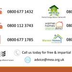 If you or someone you know are living in fuel poverty please contact us for free energy advice.