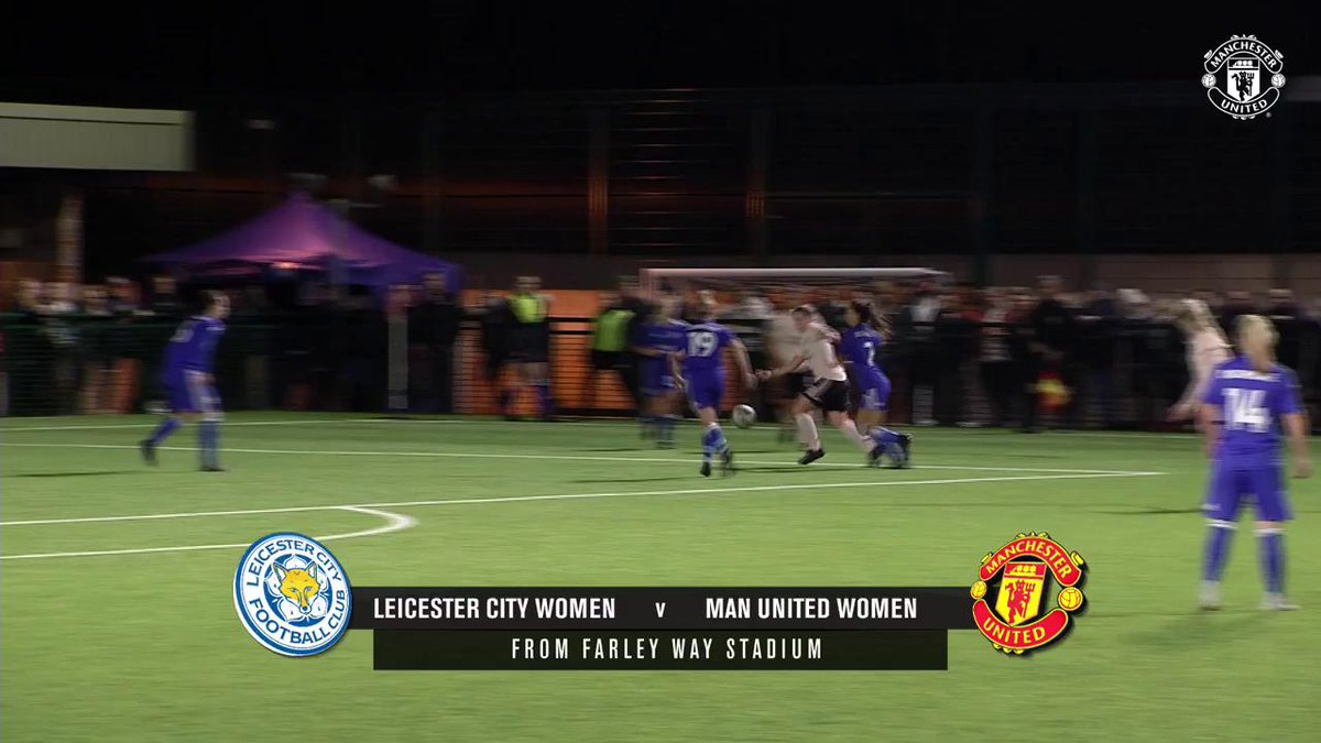 🍽 Perfect lunchtime viewing! 😋  Watch all 7️⃣ of our goals from Wednesday's win at Leicester! #MUWomen