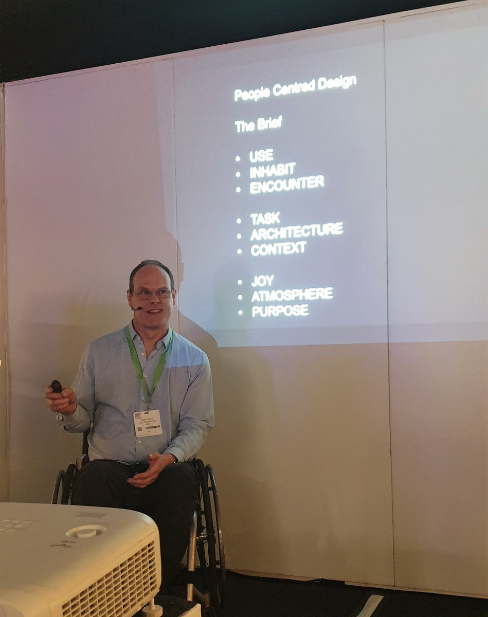 Another talk we enjoyed at #LightSchool last week was from #ILPMember Mark Ridler @Illuminidor @BDP_com. Thank you for your talk on Lighting an Idea – human needs, desires and architecture #LightTalks @surfacethinking #SDS19
