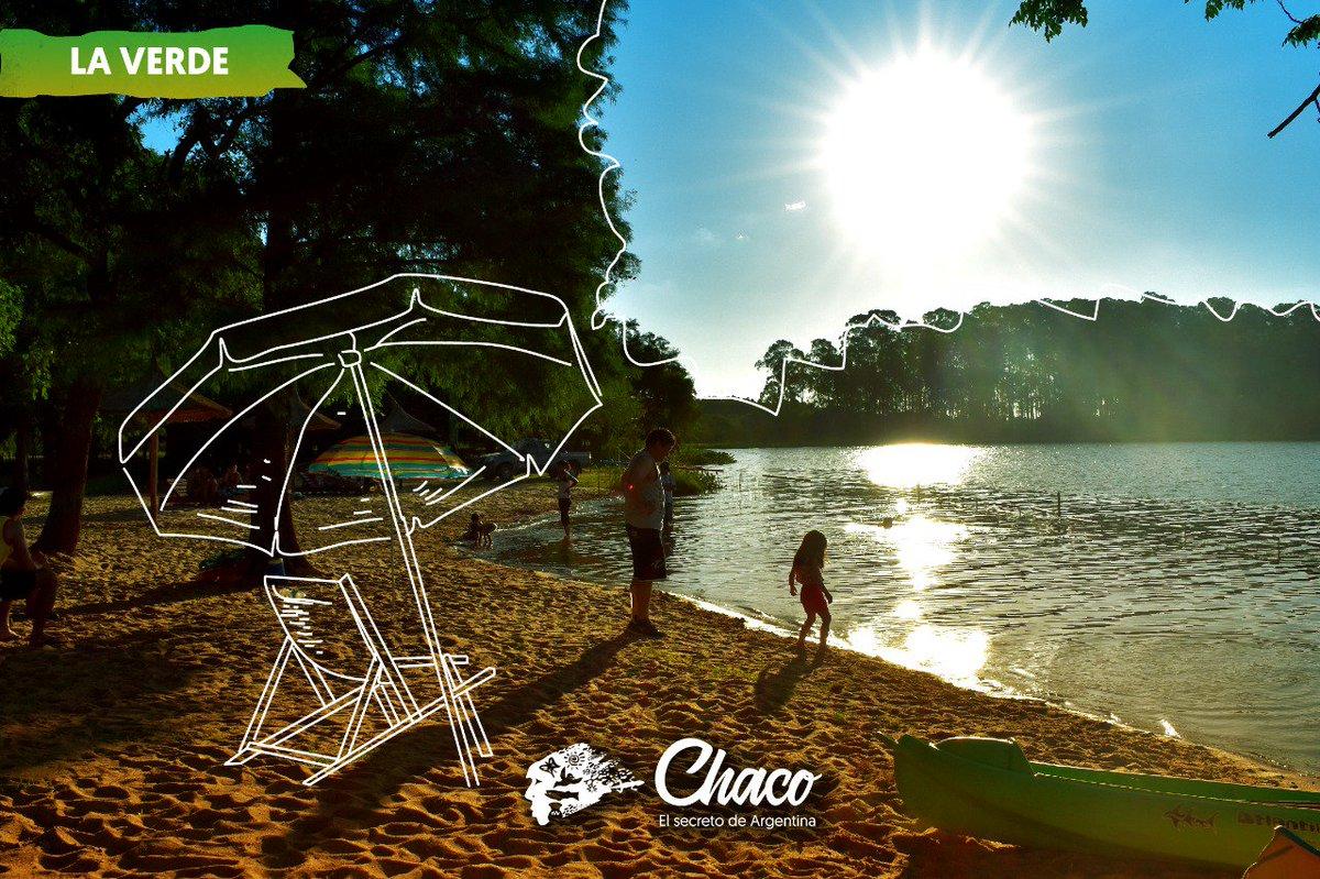 ¡Lindo domingo para conocer #LaVerde!   #BuenDomingo #Chaco #VeranoenChaco