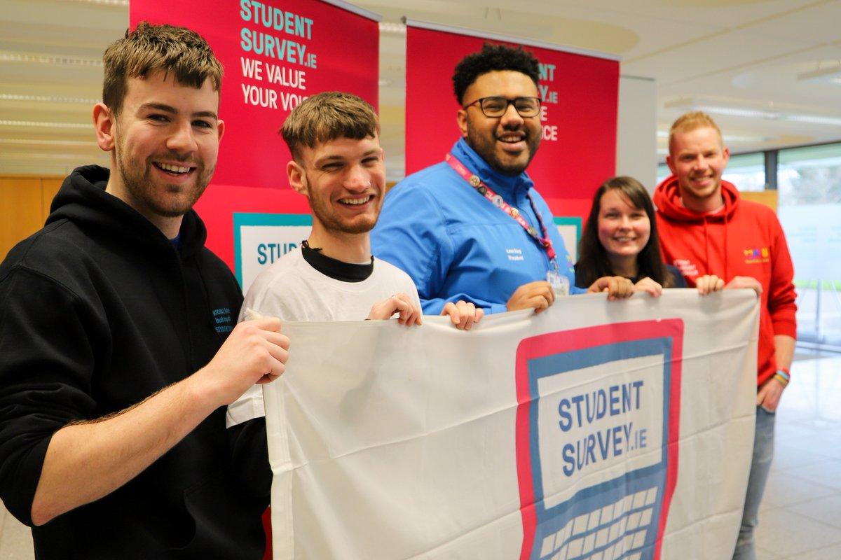 First & Final Year students there is still time for you to #haveyoursay in this year's @StudentSurveyIE. Not only will you help improve things BUT you're also in with a chance of winning a €50 All-for-One voucher each week until the survey closes #ISSE #quality