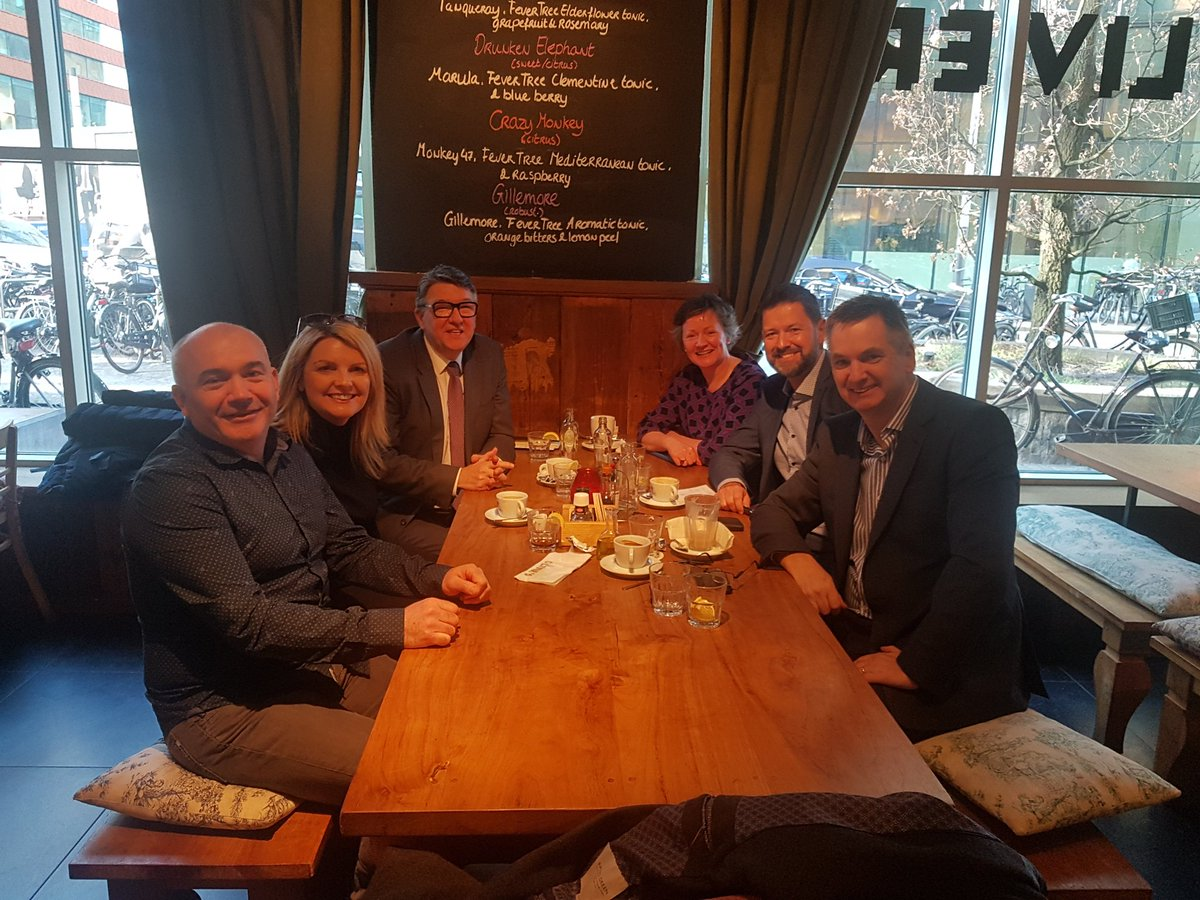 Having a very informative lunch today with @Entirl @INBA_Live @AspiraHQ in Amsterdam #projectmanagement<br>http://pic.twitter.com/CXQNUKMQSy
