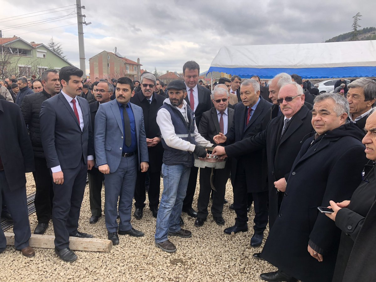 Senirkent Belediyemizin Yaşlı Bakım ve Huzurevi inşaatının temel atma törenini gerçekleştirdik. İlçemize hayırlı olsun.