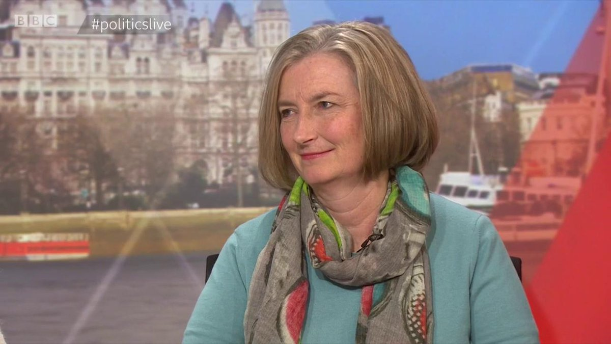 """""""They'd be much more comfortable there"""" Tory MP @sarahwollaston on ERG colleagues possibly joining Nigel Farage's new #Brexit party  """"If they were dictating policy, they'd be getting the deal they wanted"""" Telegraph's @christopherhope   #politicslive https://bbc.in/2Eakam7"""