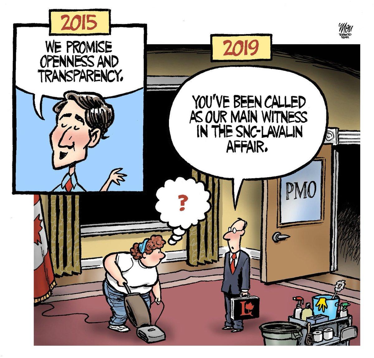 Here's todY'S #SNCLavalin cartoon in @TorontoStar