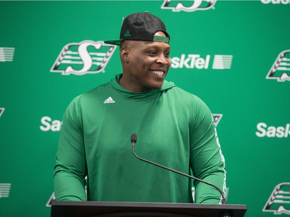 ICYMI: Free-agent defensive tackle Micah Johnson raves about Mosaic Stadium https://t.co/ael9GT2ALV #CFL #Riders