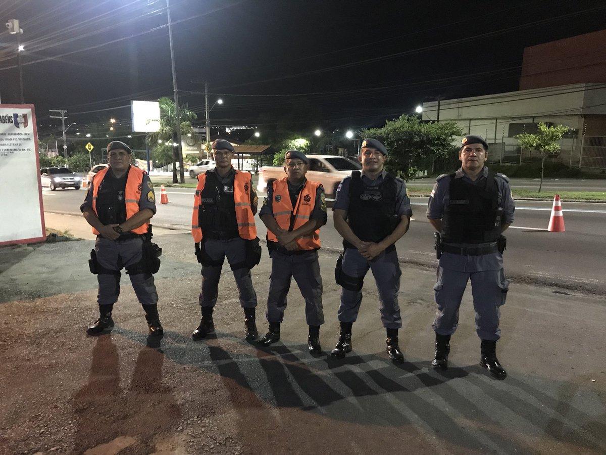 Serviço de ontem padrão. Operação Catraca da PMAM na zona norte da cidade. #policiamilitar #capitao #manaus