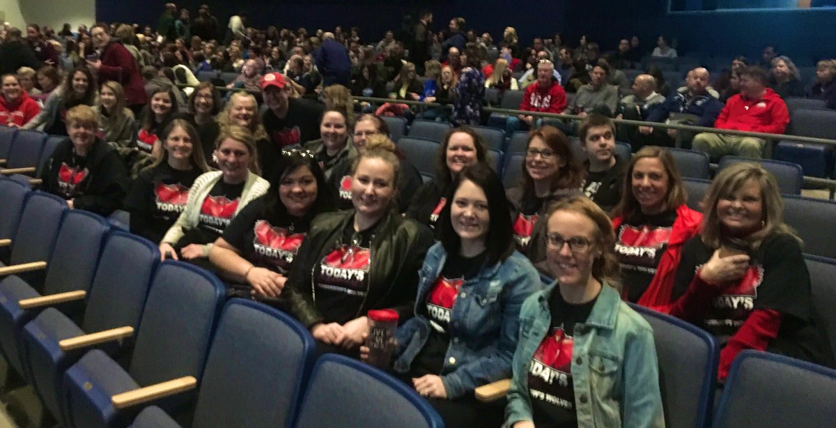 Today's Cardinals, Tomorrow's Wolves!  So proud to be a part of this dedicated family!! Thank you for being you! #OneYearMatters #WCconnects @BrantnerElem