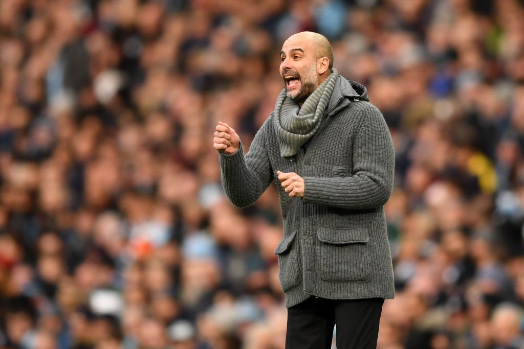 Pep's on his way to field questions ahead of #ncafcvcity in the #FACup!   STAY TUNED! 👀  🔵 #mancity