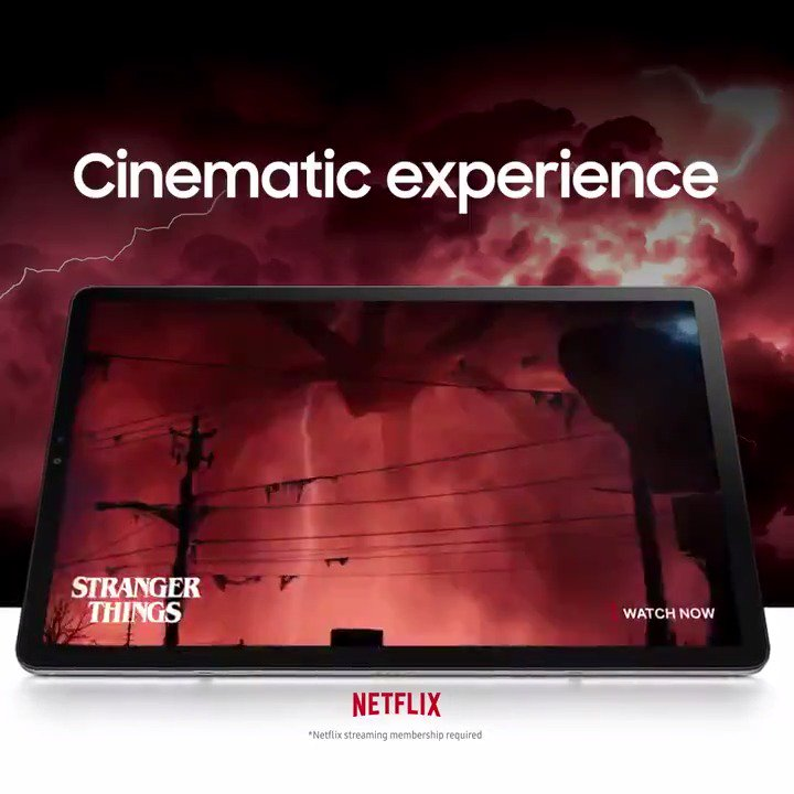 A cinematic experience that pulls you right in. #GalaxyTabS5e Learn more: http://smsng.co/TabS5e_it