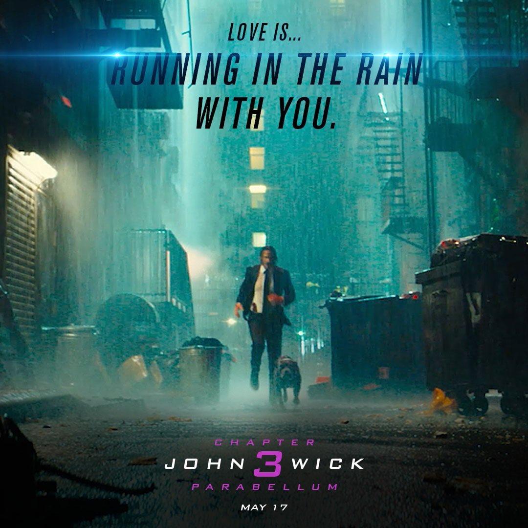 Cartazes do filme de ação mais aguardado do ano #JohnWick #Parabellum trás todos os assassinos profissionais do Continental na caça do personagem do magnético #KeanuReeves #JohnWick3 #CultMovie #HollywoodStars
