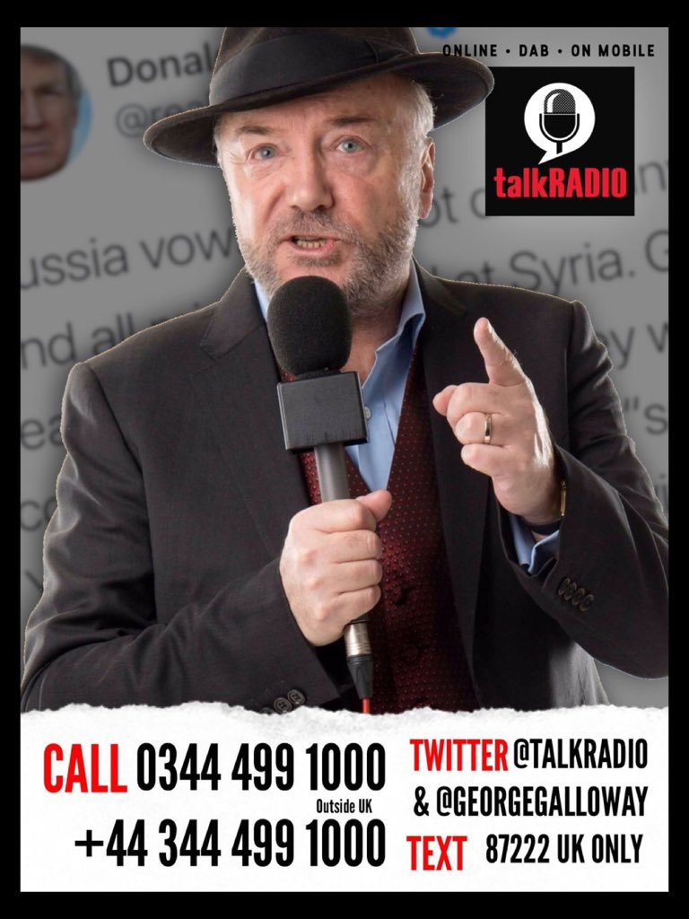 ON AIR NOW |  Call me! Tonight we're talking with @Nigel_Farage, looking at the New Centrist Party, the New Brexit Party, Trump and the decline of insect numbers.   Every Friday from 7/10pm GMT exclusively on @talkRADIO   Listen online worldwide: https://t.co/v3HWLEq8GO  #MOATS