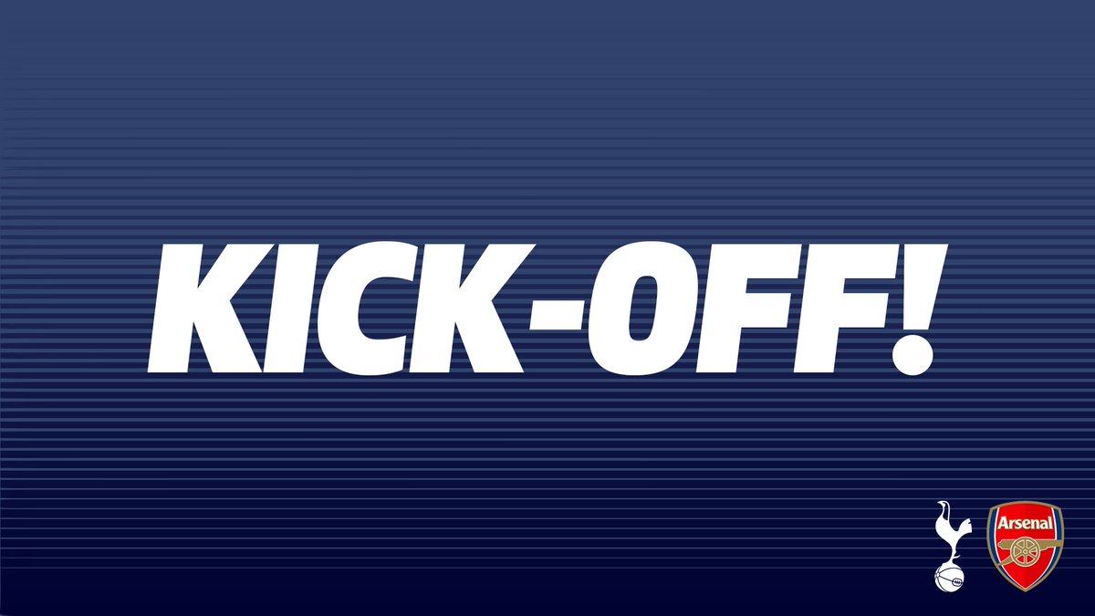 KICK-OFF - Our U23s are underway against Arsenal here at @StevenageFC... #PL2 #COYS  ⚪️ #THFC 0-0 #AFC 🔴
