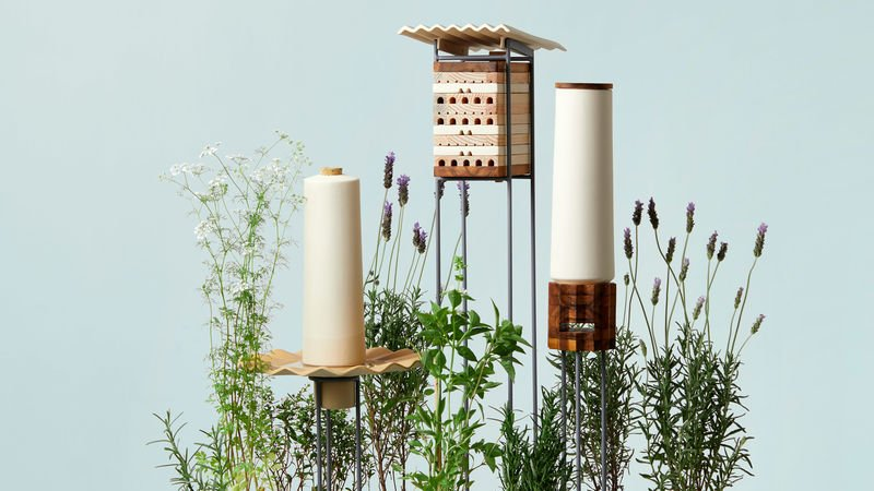 Solitary Bee-Accommodating Objects https://t.co/qwEpTJQz5S #Eco