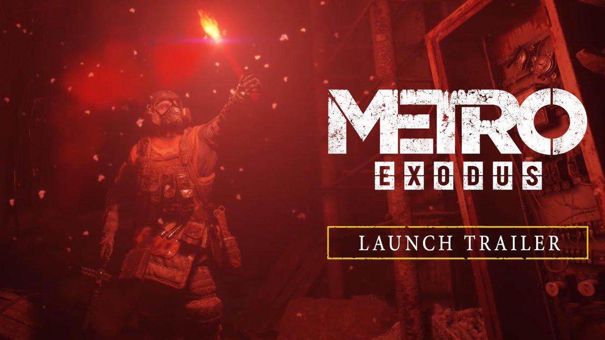 The journey begins now. #MetroExodus  👀: https://xbx.lv/2EcdVhL