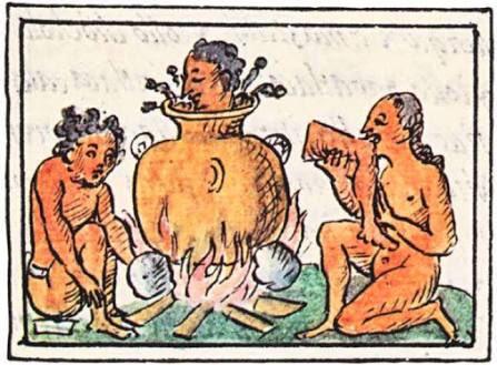 #sabiasque el pozole es uno de los platillos más antiguos de #México? En tiempos de los nahuas se consumía con carne humana durante la fiesta del Tlacaxipehualiztli, veintena dedicada a Nuestro Señor el Desollado.Solo las clases altas, así como sacerdotes y guerreros lo consumian