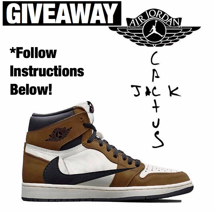 SNEAKER GIVEAWAY  We will be giving several individuals the chance to purchase a pair of Travis Scott x Nike sneakers.  -RETWEET AND TAG 1 FRIEND BELOW!  **Model and color-way of the shoes is at our discretion!** <br>http://pic.twitter.com/XscQ2AQf30
