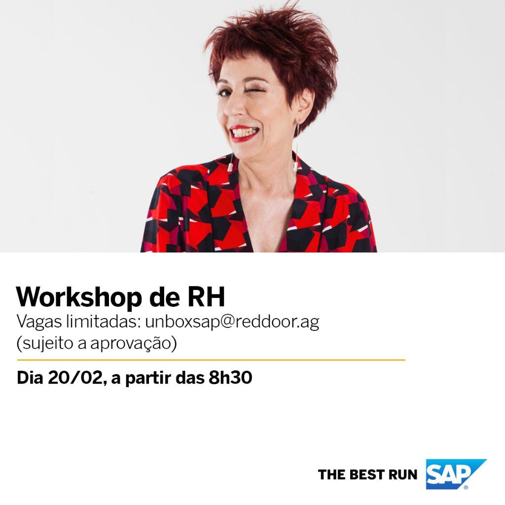 . @futurar, Futurista da 5 Years From Now, estará presente no Workshop de RH da SAP Brasil, que acontece dia 20 de fevereiro. Acompanhe a cobertura do evento em suas redes sociais e descubra por que e como focar no bem-estar dos seus colaboradores.