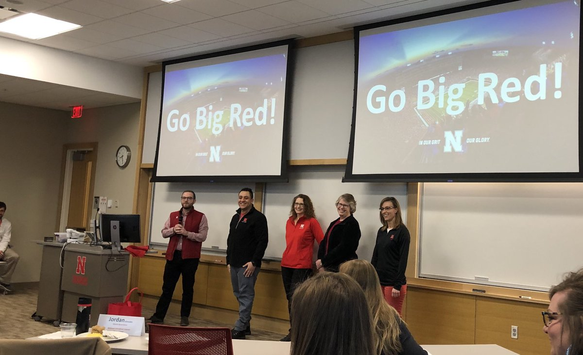 At the last day of Staff Leadership Academy this group presented about the need for a new game day tradition and came up with a cool idea.