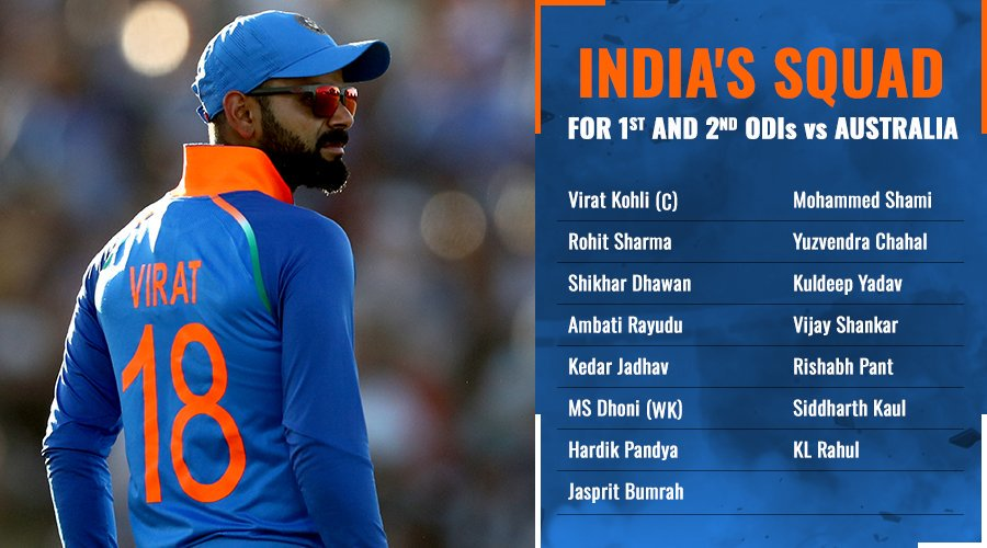 #indiavsaus it is unfair for DK who proves him everytime when he got opportunities but..... 😒😒