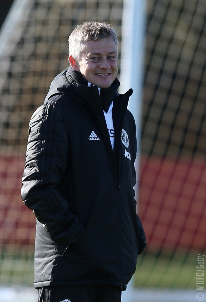 """""""We won't panic because we've lost a game — our mindset won't change at all,"""" Ole says. """"We need to keep working the way we want to play and they way we approach games will always be in an attacking, positive frame of mind."""" #MUFC"""