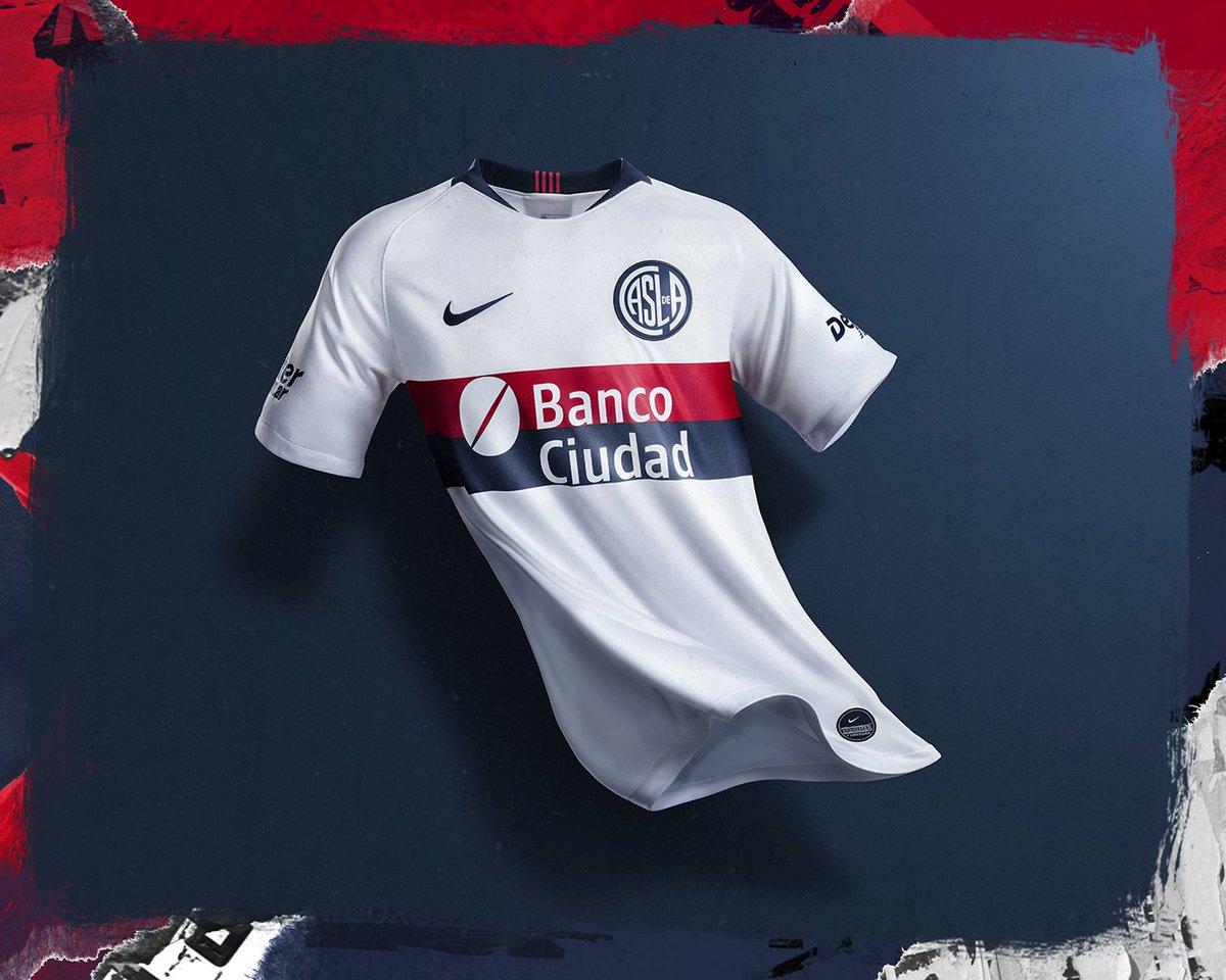 La nueva camiseta de San Lorenzo.